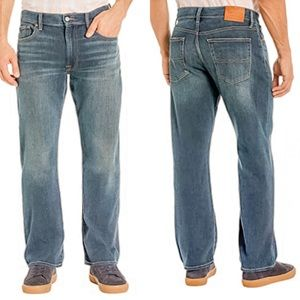 Lucky Brand Men's Relaxed Fit, Straight Leg Jeans